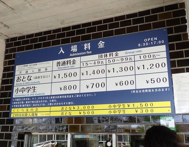 太地町 くじらの博物館 料金