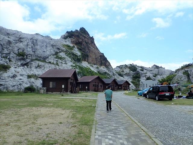 白崎海岸 キャンプ場