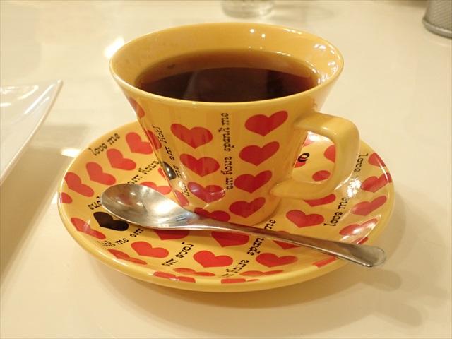 ハートイエロー コーヒーカップ